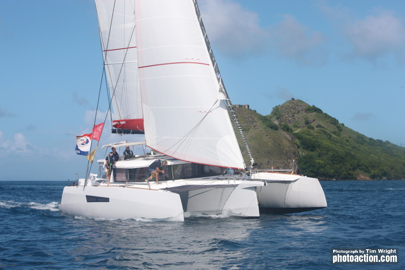 Minimole arrives at Rodney Bay Saint Lucia