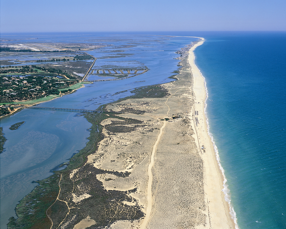 Ria Formosa Beach on Portugal's Algarve Coast