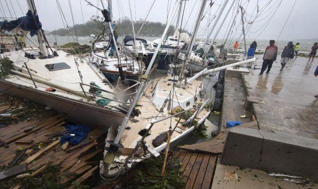 Damage in Port Vila