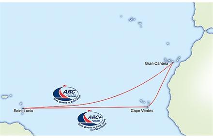 STreckenplanung der ARC 2015