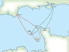 ARC Channel Islands Dates and Route