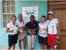 ARC Ladies support Saint Lucia CDGC