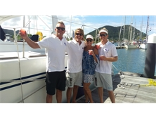 Crossing the line – Saint Lucia welcomes Sea Child after a ten year circumnavigation